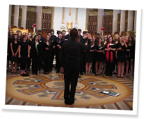 Newtown High School Choir, Ste-Anne-de-Beaupré Basilica